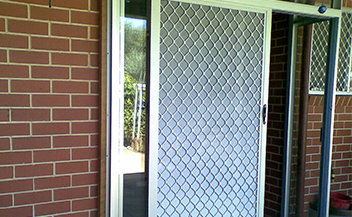 Servicing sliding glass doors aluminum and timber
